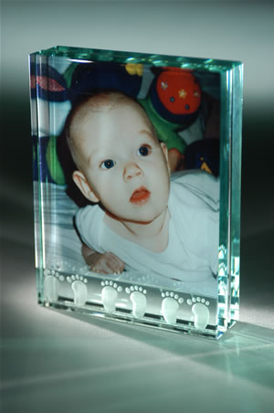 Baby Feet, plain - Large Frame